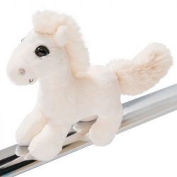 Nici Plüssök - Happybox ajándéktárgyak - Plüss ló, Cloudhopper, 12cm, mágneses