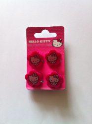 Ajándék és divat - Hello Kitty virágos hajcsipesz