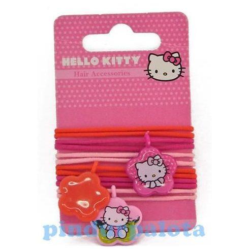 Ajándék és divat - Hello Kitty hajgumi logóval