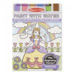 Kifestők - Színezők - Kreatív kifestő festékpalettával hercegnős, Melissa & Doug
