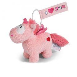 Nici Plüssök - Happybox ajándéktárgyak - Plüss unikornis, Merry Heart, 11 cm