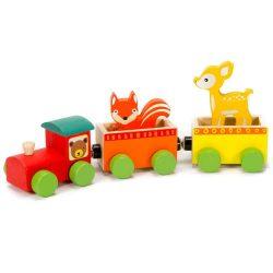 Járművek - Vonatok - Favonat állatokkal