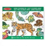 Rajzkészség fejlesztő játékok - Jumbo színező állatokkal, Melissa & Doug