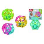 Bébijátékok - Csörgők - Bébi labda csörgő belsővel Simba ABC több színben