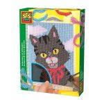 Hímezzünk cicát kézügyesség fejlesztő kreatív játék