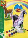 Kreatív hobby készletek a gyermeki kreativitás kibontakozásához - SES lovacska 3D gipszkiöntő készle