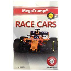 Kártya játékok - Formula 1 autós kvartett kártya