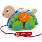 Fajátékok - Húzogatós teknős játék
