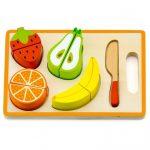 Szerepjátékok - Játékkonyhák - Szeletelhető gyümölcsök tálcán