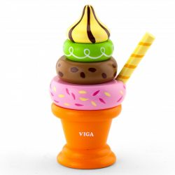Ügyességi játékok - Fagyi narancssárga pohárban - montesszori játék