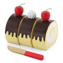 Szerepjátékok - Svájci tekercs játék sütemény