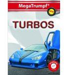 Kártya játékok - Turbó autók kvartett kártya