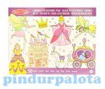 Rajzkészség fejlesztő játékok - Jumbo színező hercegnős, Melissa & Doug