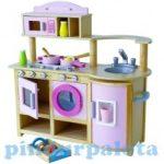 Szerepjátékok - Játékkonyha kiegészítőkkel rózsaszín