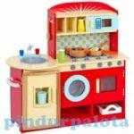 Szerepjátékok - Játékkonyha kiegészítőkkel piros m