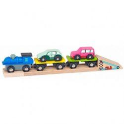 Vonatkészlet kiegészítő - autószállító vonat