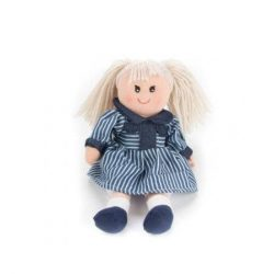 Rongybabák - Rongybaba 25 cm lány, szőke