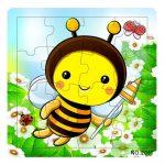 Puzzle kirakók - Puzzle 16 darabos méhecske