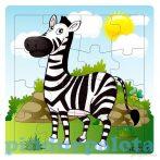 Puzzle kirakók - Puzzle 16 darabos zebra