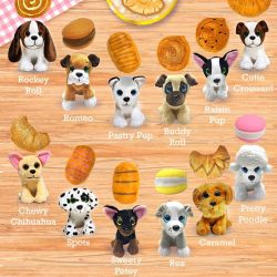Gyűjthető figurák - Süti kutyusok Kifordítható játék