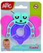 Rágókák - Bébijátékok - Rágóka pillangó alakú bébi játék ABC Simba