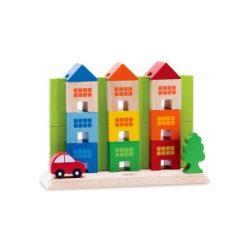 Építőjátékok - Városépítő játék