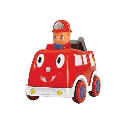 Járművek - Tűzoltóautó Press and Go ABC Simba