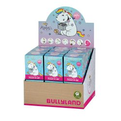 Ajándékok divatos termékek gyerekeknek - Chubby Unicorn meglepetés figura Bullyland