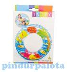 Fürdős játékok - Strand játékok - Úszógumi állatos, 61cm, Intex