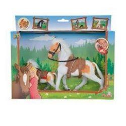 Figurák - Lovak - Champion lovak játék szett különböző lovakkal 11+19cm Simba Toys
