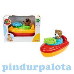 Fürdőjátékok - Hajó maci figurával kutya