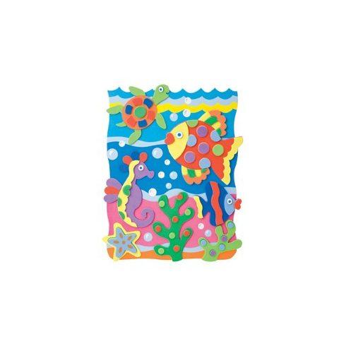 Kreatív Hobby - Készletek - Képkészítő szivacs óceán témában
