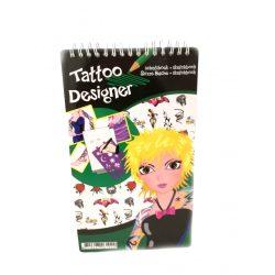 Rajzkészség fejlesztő játékok - Rajzsablon Tetoválás tervező szett