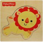 Baby játékok és kellékek - Fiscer Price állatos fapuzzle