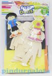 Kreatív Hobby készletek - Öltöztethetős szivacsbaba