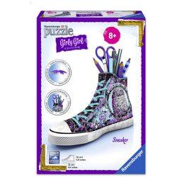 3D-s puzzle - 3D Puzzle Állatos tornacipő