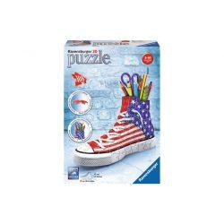 3D-s puzzle - 3D Puzzle US Tornacipő