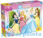 Puzzle - Kirakósok - Hercegnők 60db-os puzzle plus