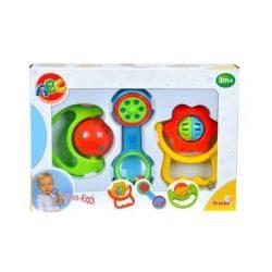 Csörgők kisbabáknak - ABC baby csörgő szett
