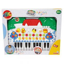 Zenélő bébijátékok - Ajándékok babáknak - Simba ABC Pianino Állatos