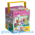 Gyerek Puzzle - Kirakósok - Hamupipőke puzzle 48db+filctollak