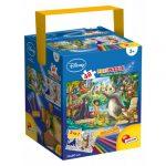 Gyerek Puzzle - Kirakósok - Dzsungel könyve puzzle 48db+filctollak