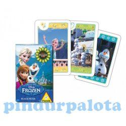 Kártya játékok - Mesekártyák - Disney Jégvarázs Fever kvartett gyermek kártyajáték - Piatnik