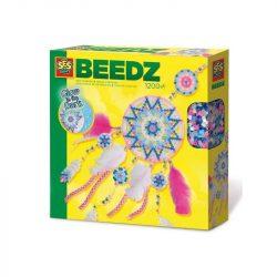 Fűzős játékok gyerekeknek - Vasalható gyöngy Álomfogó készítő szett