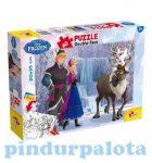Gyerek Puzzle - Kirakósok - Jégvarázs Puzzle plusz 60db