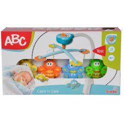 Zenélő bébijátékok - Ajándékok babáknak - ABC zenélő baby mobil