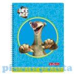 Írószerek-iskolaszerek - Füzetek - Herlitz Spirálfüzet A4/70 Ice Age Sid kockás