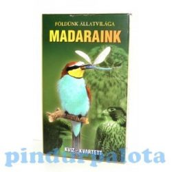 Kártya játékok - Mesekártyák - Memória kártyák - Klasszikus kártyapaklik - Kártyajáték madarak