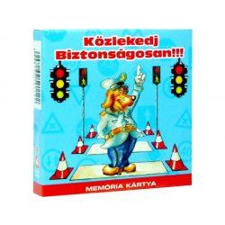 Kártyajátékok - Memória kártya - Közlekedj okosan!