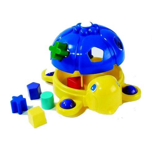 Fejlesztő játékok - Csodateknős formabedobójáték többféle